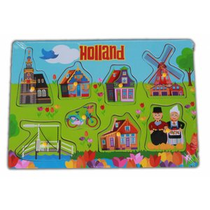 Typisch Hollands Children's puzzle Holland Village