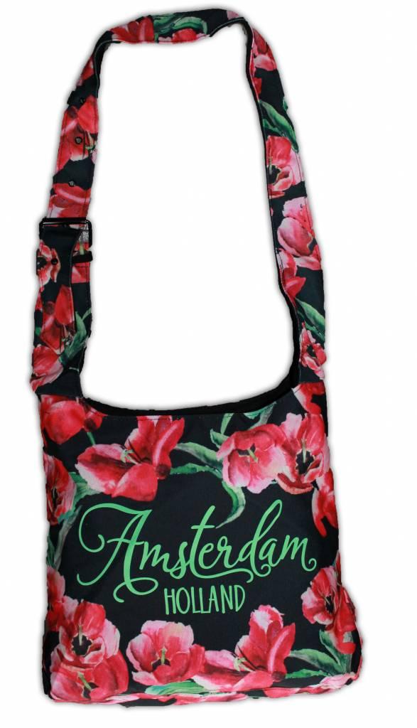287c71e9c2a Shop Holland tassen met tulpen - Damestassen Typisch Hollands ...