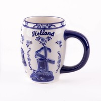 Typisch Hollands Delft blue mug - Big