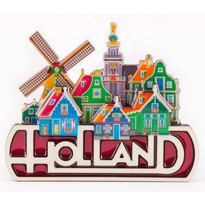 Typisch Hollands Magnet Holland - Village view