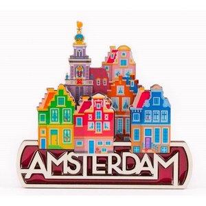 Typisch Hollands Magneet Amsterdam - Stadsgezicht