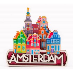 Typisch Hollands Magnet Amsterdam - Stadtbild