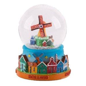 Typisch Hollands Sneeuwschudbol - Holland 7 cm