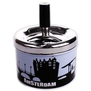 Typisch Hollands Cannabis Items Asbak Amsterdamse Grachten