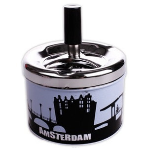 Typisch Hollands Cannabis Items Aschenbecher Amsterdam Canals