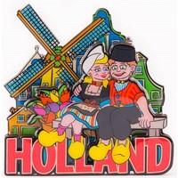 Typisch Hollands Magneet Volendams koppel