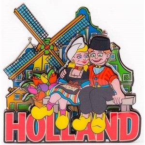 Typisch Hollands Magnet Volendams couple