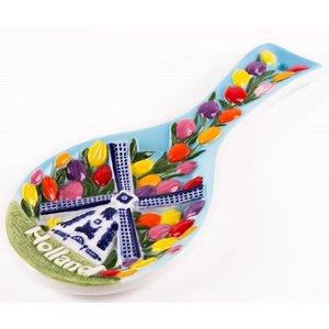 Typisch Hollands Löffelhalter - Keramik
