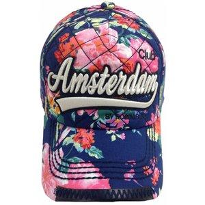 Robin Ruth Fashion Trendy JJ Cap - Robin Ruth Blauw-Bloem - Amsterdam