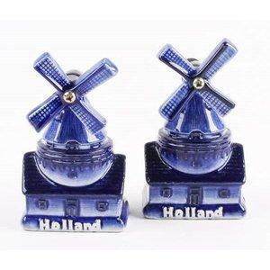 Typisch Hollands Pfeffer und Salz gesetzt