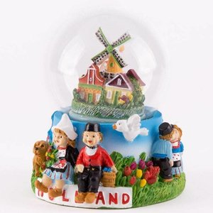 Typisch Hollands Sneeuwschudbol - Holland 10 cm