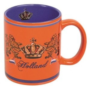 Typisch Hollands Orange Coffee Mug - Crown