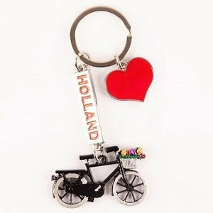 Typisch Hollands Keychain - Bicycle - Holland