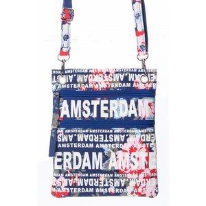 Robin Ruth Fashion Nektas - Paspoorttas - Amsterdam Bloemen
