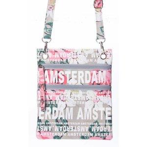 Robin Ruth Fashion Nektas - Passport bag - Amsterdam Flowers