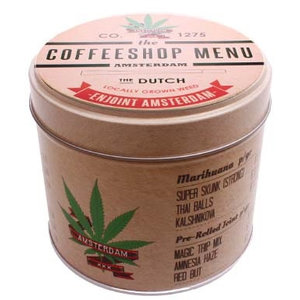 Stroopwafels in Blik Coffeeshop