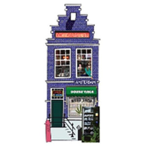 Typisch Hollands Magnet 3-D Amsterdam Weedshop