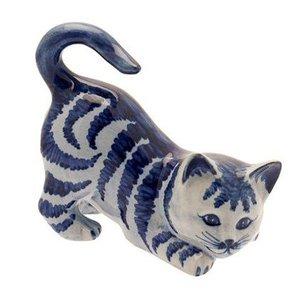 Typisch Hollands Kat Delfts blauw