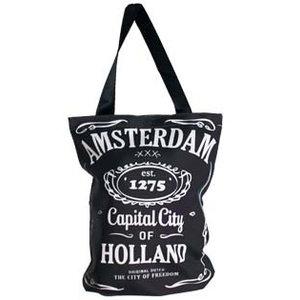 Typisch Hollands Luxe Shopper - Cavas - Amsterdam