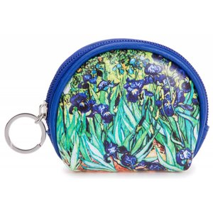 "Robin Ruth Fashion Wallet ""Irises"""