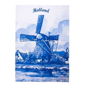 Typisch Hollands Tea towel - Mills - Delft