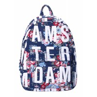 Robin Ruth Fashion Backpack - Flowers - Amsterdam