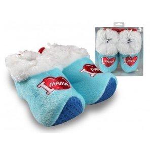 Typisch Hollands Clog slippers (BABY BLUE) in order Typical Dutch