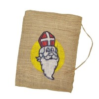 Typisch Hollands Jute zak Sinterklaas 30 x 40 cm