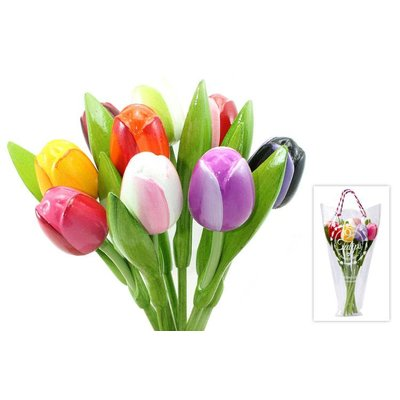 Typisch Hollands Wooden Tulip Mix Bouquet