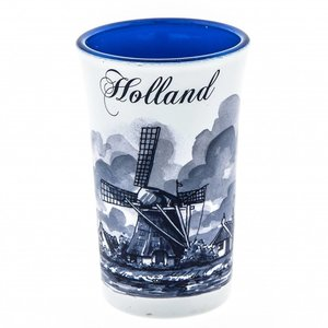 Typisch Hollands Shotglas Holland Blue