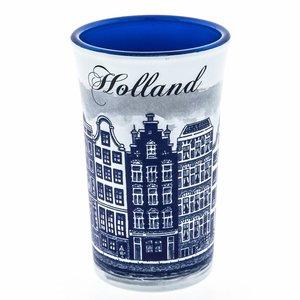 Typisch Hollands Shotglas Holland Blue