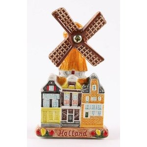 Typisch Hollands Magnet Windmill Holland (ceramics)