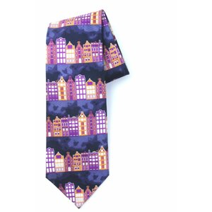 Robin Ruth Fashion Tie Facade Houses (topper)