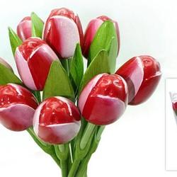 Houten Tulpen (Boeket)