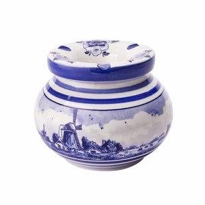 Typisch Hollands Delfts blauwe asbak