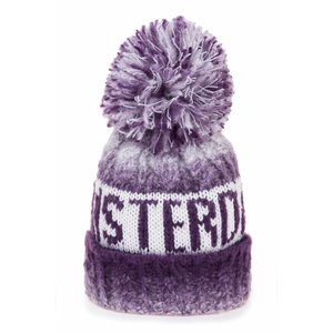 Robin Ruth Fashion Winter Cap Amsterdam - Violet