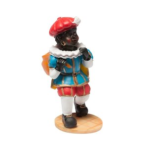 Typisch Hollands Zwarte Piet - de Pakjespiet 14 cm
