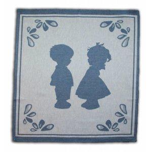 Typisch Hollands Tea towel - Boertje / Boerinnetje