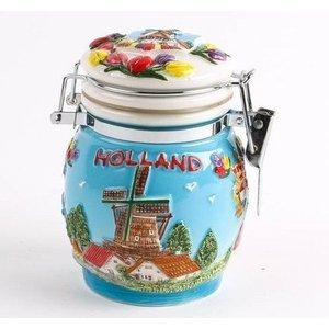 Typisch Hollands Beef pottery 10 cm Holland