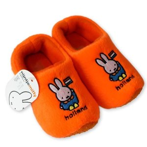 Typisch Hollands Clog Pantoffeln orange Miffy