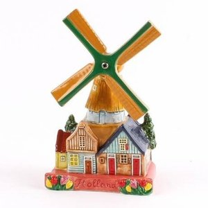 Typisch Hollands Village mill 14 cm color