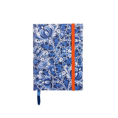 Typisch Hollands Notitieboekje A6 Delfts blauw