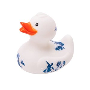 Typisch Hollands Rubber duck Delft blue