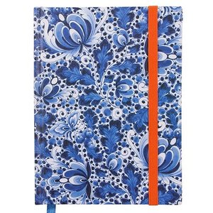 Typisch Hollands Notizbuch A6 Delfter Blau