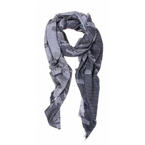 Robin Ruth Fashion Sjaal Robin Ruth Chique Grey- Silver