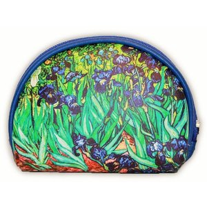 Robin Ruth Fashion Make-up bag of irises