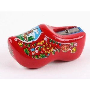 Typisch Hollands Sharpener clog - Red