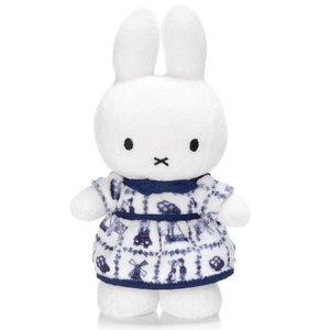 Nijntje (c) Miffy in Delfter Blau Kleid 34 cm