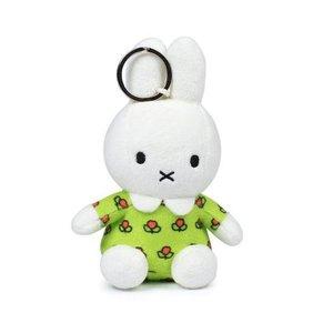 Nijntje (c) Miffy - Holland geblümtes Kleid - Keychain 10 cm