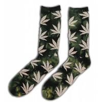 Robin Ruth Fashion Heren - Sokken met Wietblaadjes